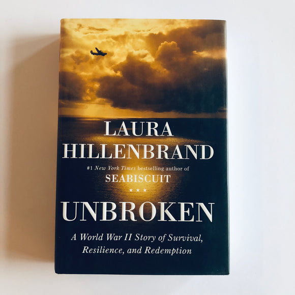 Hardcover book: Unbroken by Laura Hillenbrand