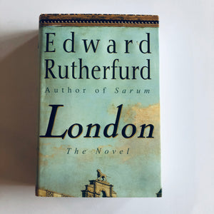 Hardcover book: London by Edward Rutherfurd