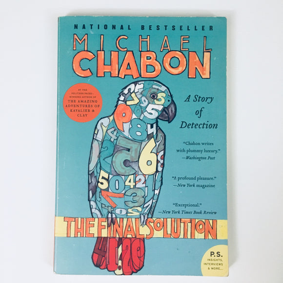Paperback book: The Final Solution by Michael Chabon