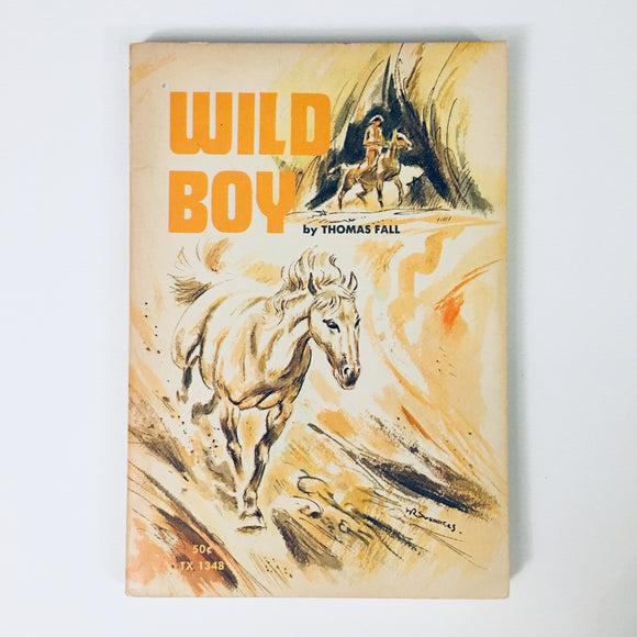 Paperback book: Wild Boy by Thomas Fall