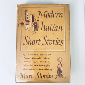 Hardcover book: Modern Italian Short Stories