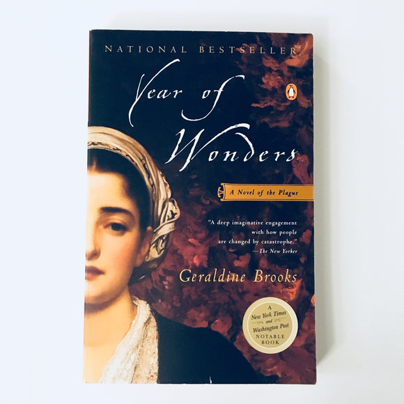 Paperback book: Year of Wonders by Geraldine Brooks