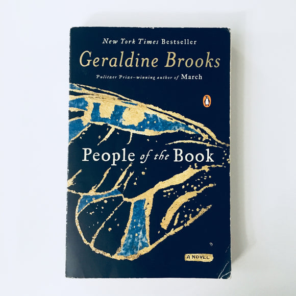 Paperback book: People of the Book by Geraldine Brooks