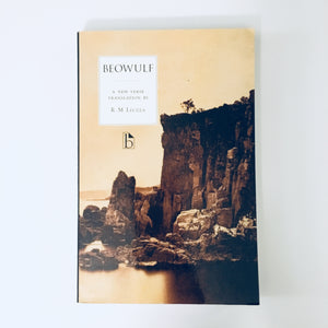 Paperback book: Beowulf (translated by R.M. Liuzza)