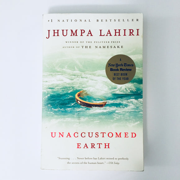 Paperback book: Unaccustomed Earth by Jhumpa Lahiri