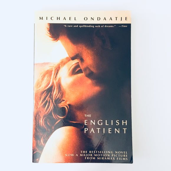 Paperback book: The English Patient by Michael Ondaatje