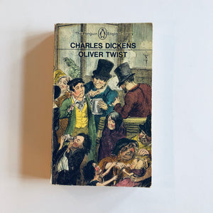 Paperback book: Oliver Twist by Charles Dickens