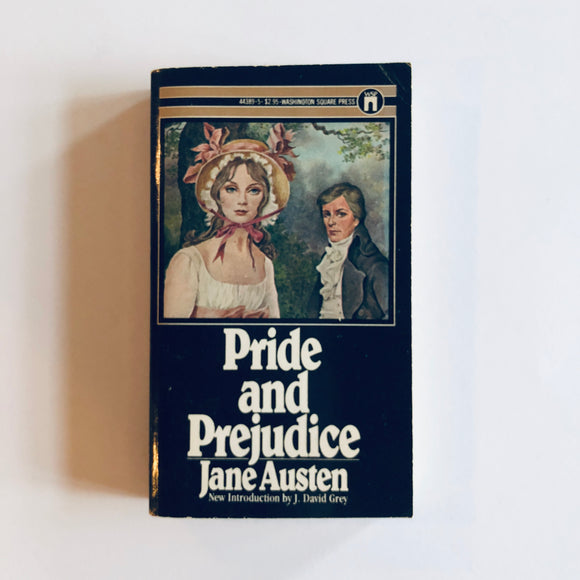 Paperback book: Pride & Prejudice by Jane Austen