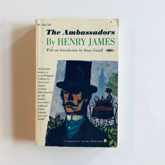 Paperback book: The Ambassadors by Henry James