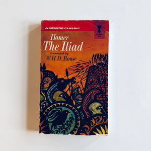 Paperback book: Homer's The Iliad