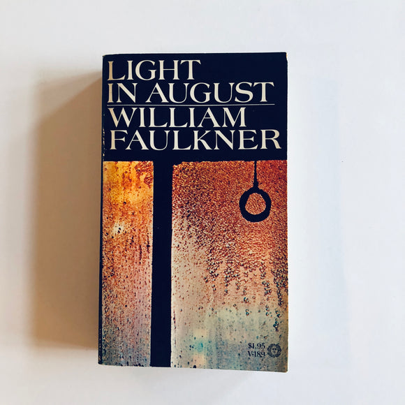 Paperback book: Light in August by William Faulkner
