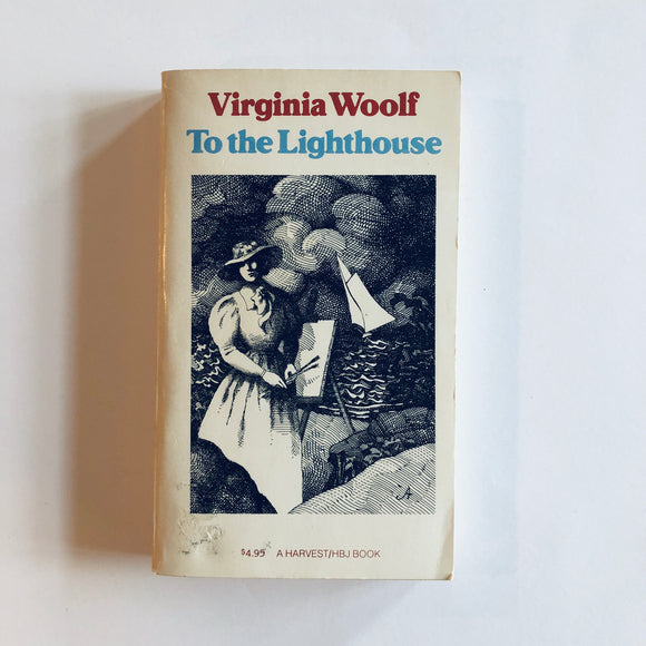 Paperback book: To The Lighthouse by Virginia Woolf