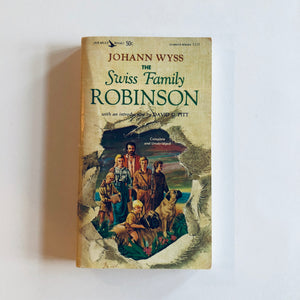 Paperback book: Swiss Family Robinson by Johann Wyss