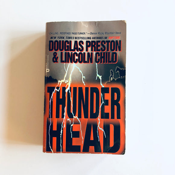 Paperback book: Thunderhead by Douglas Preston & Lincoln Child