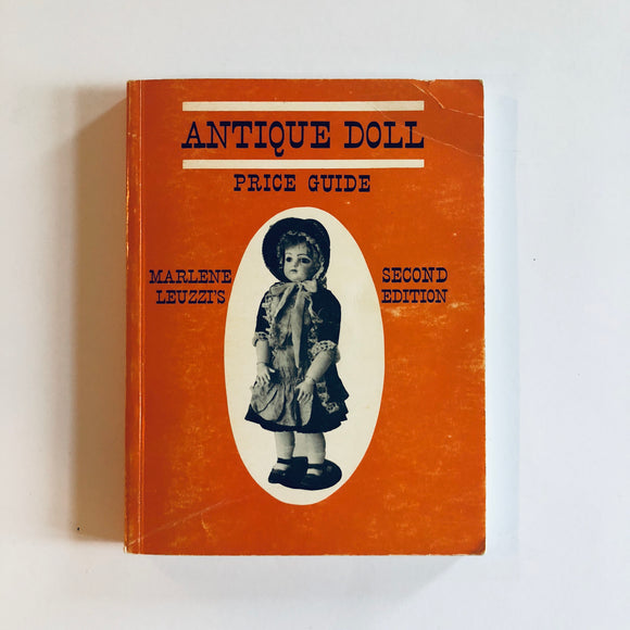 Paperback book: Antique Doll Price Guide