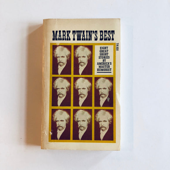 Paperback book: Mark Twain's Best Short Stories