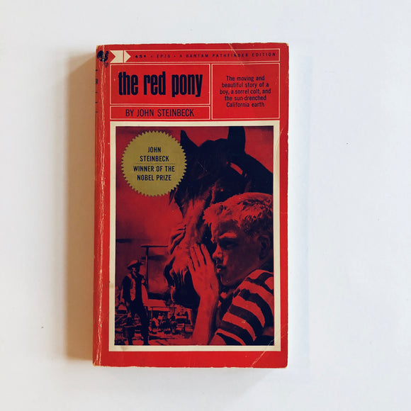 Paperback book: The Red Pony by John Steinbeck