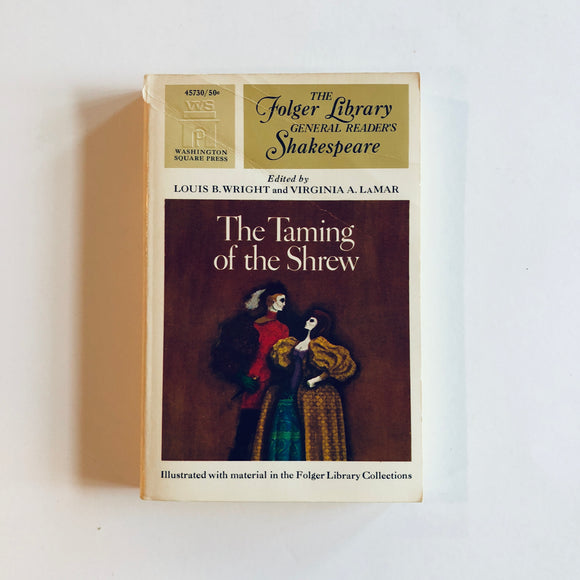 Paperback book: The Taming of the Shrew by William Shakespeare