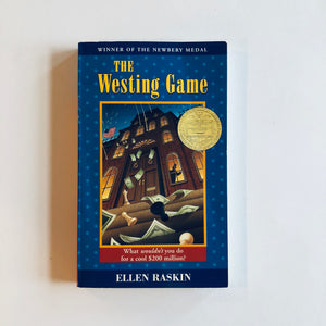 Paperback book: The Westing Game by Ellen Raskin