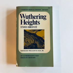 Paperback book: Wuthering Heights by Emily Bronte