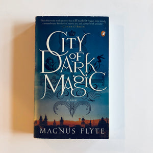 Paperback book: City of Dark Magic by Magnus Flyte