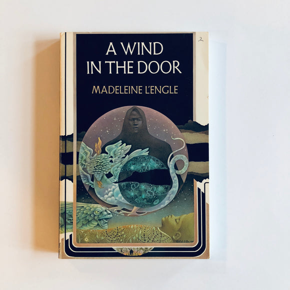 Paperback book: A Wind in the Door by Madeleine L'Engle