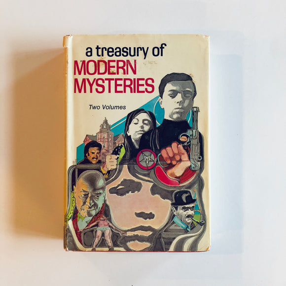 Hardcover book: A Treasury of Modern Mysteries