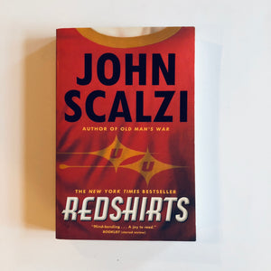 Paperback book: Redshirts by John Scalzi