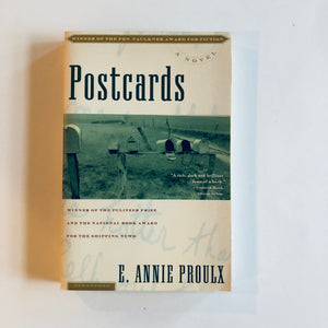 Paperback book: Postcards by E. Annie Proulx