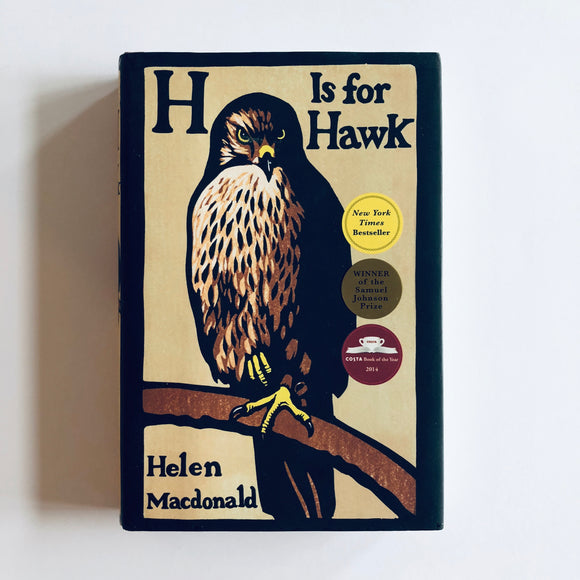 Hardcover book: H is For Hawk by Helen MacDonald
