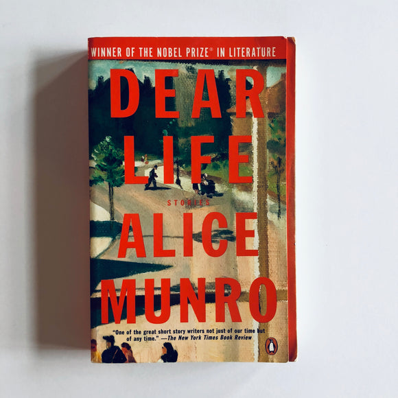 Paperback book: Dear Life by Alice Munro