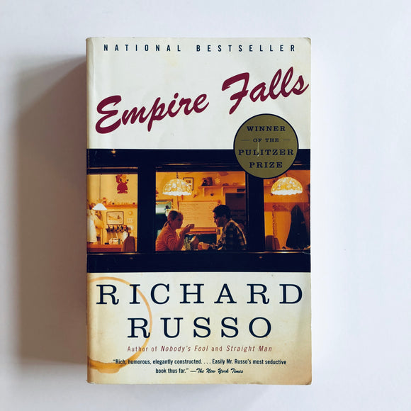 Paperback book: Empire Falls by Richard Russo