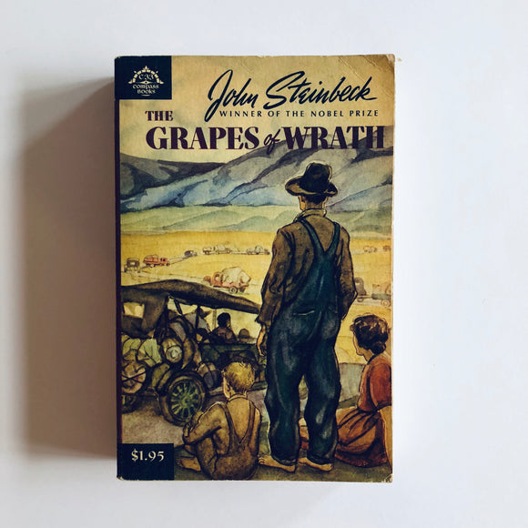 Paperback book: The Grapes of Wrath by John Steinbeck
