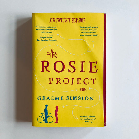 Paperback book: The Rosie Project by Graeme Simsion