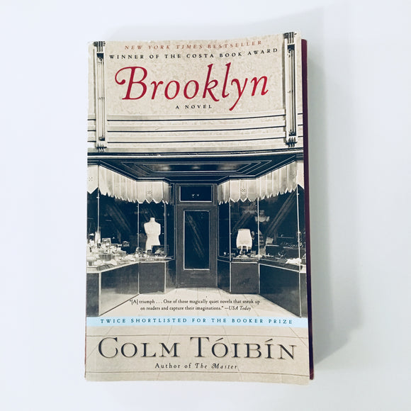 Paperback book: Brooklyn by Colm Toibin