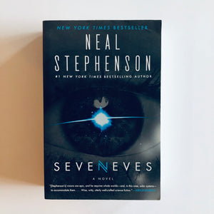 Paperback book: Seveneves by Neal Stephenson