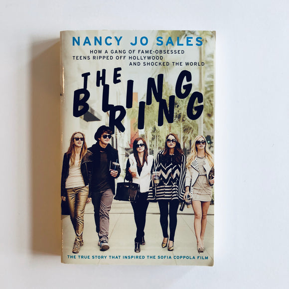 Paperback book: The Bling Ring by Nancy Jo Sales