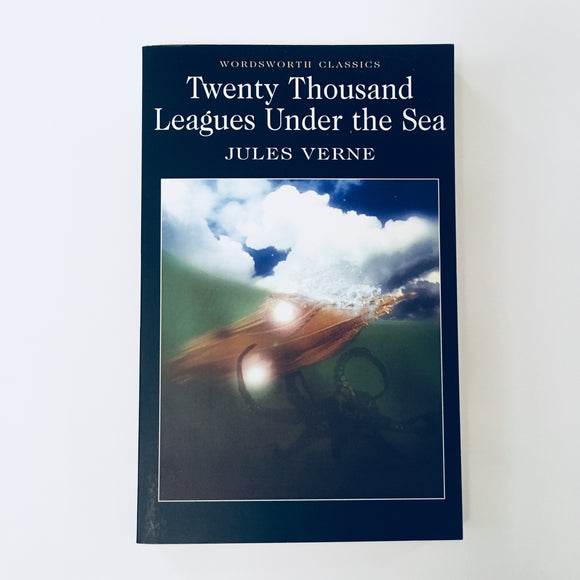 Paperback book: Twenty Thousand Leagues Under the Sea by Jules Verne