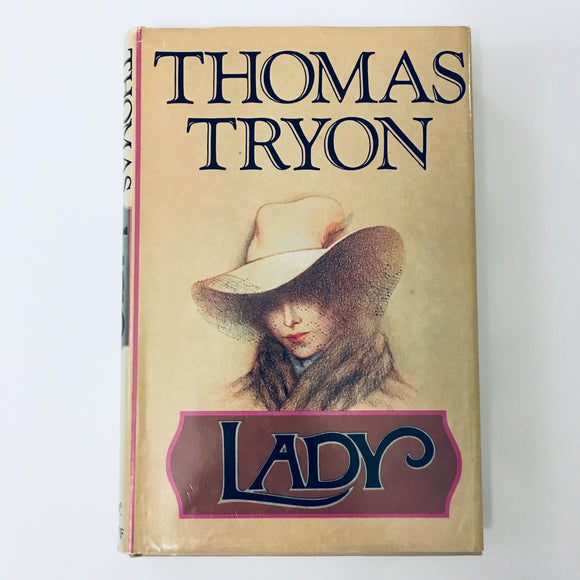Hardcover book: Lady by Thomas Tryon