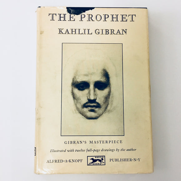 Hardcover book: The Prophet by Kahlil Gibran