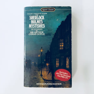 Paperback book: The Sherlock Holmes Mysteries by Sir Arthur Conan Doyle
