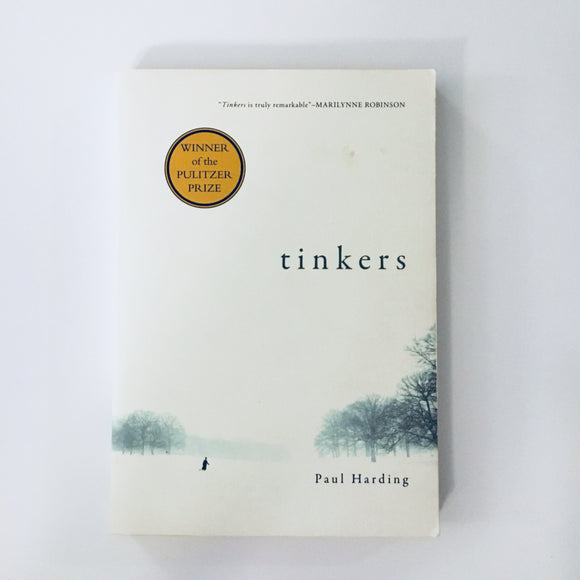 Paperback book: Tinkers by Paul Harding