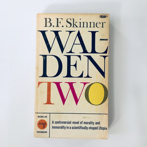 Paperback book: Walden Two by B.F. Skinner