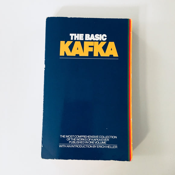 Paperback book: The Basic Kafka by Franz Kafka
