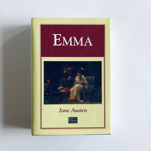 Hardcover book: Emma by Jane Austen