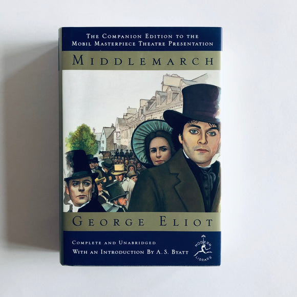 Hardcover book: Middlemarch by George Eliot