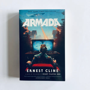 Paperback book: Armada by Ernest Cline