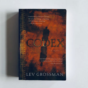 Paperback book: Codex by Lev Grossman