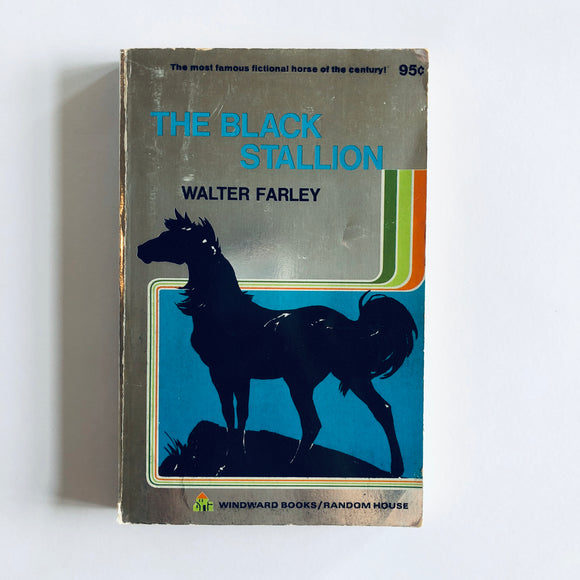 Paperback book: The Black Stallion by Walter Farley