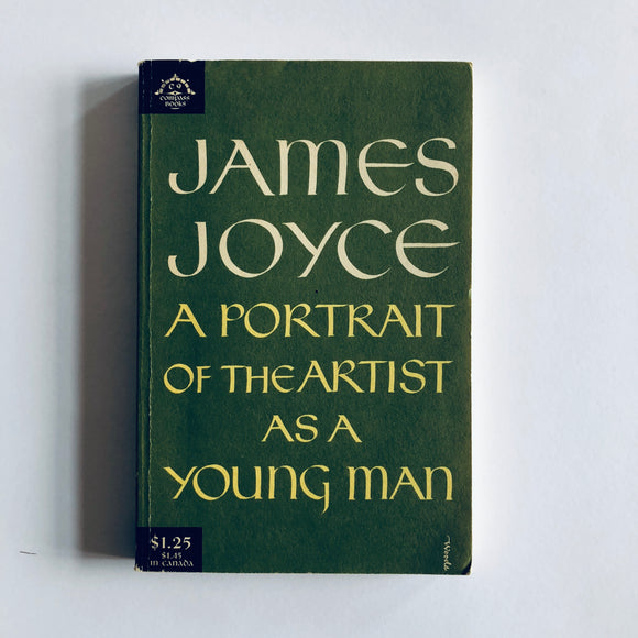 Paperback book: A Portrait of the Artist as a Young Man by James Joyce
